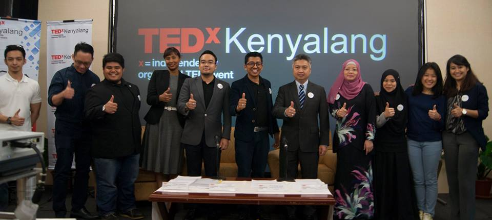 TEDxKenyalang 2017 Launching & Press Conference at Borneo Convention Centre Kuching (BCCK)