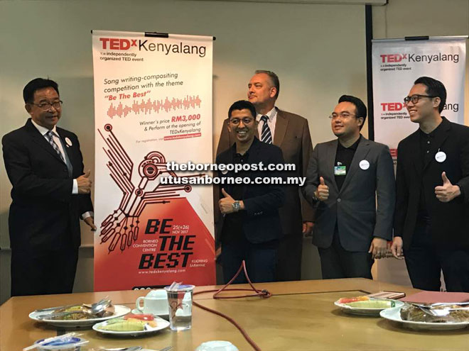 Youths urged to attend TEDxKenyalang
