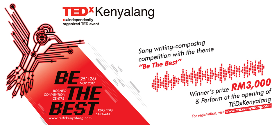 "Song writing-composing competition with the theme ""Be The Best"""